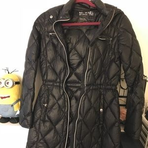 Michael Kors packable down fill jacket.